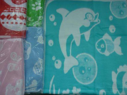 Одеяло байковое с рисунком - арт. 57-4ЕТОЖ(57-6ЕТЖ)
