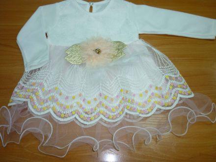 Платье велюровое с длинным рукавом- арт: 0001,