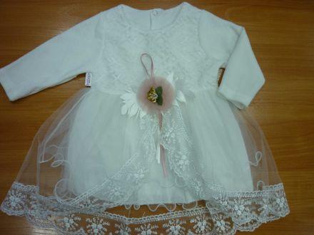 Платье велюровое с длинным рукавом- арт: 300