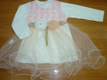 Платье с длинным рукавом- арт: 0002.