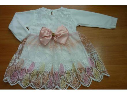 Платье велюровое с длинным рукавом- арт: 734