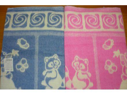 Одеяло байковое с рисунком - арт. 57-4ЕТОЖ