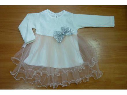 Платье с длинным рукавом- арт: 719