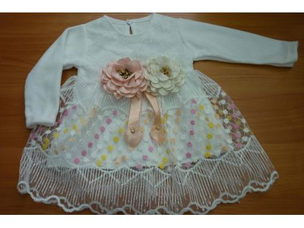 Платье велюровое с длинным рукавом- арт: 731
